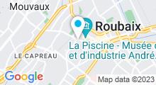 Plan Carte Centre nautique Thalassa - Piscine à Roubaix