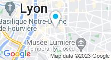 Plan Carte Piscine Garibaldi à Lyon