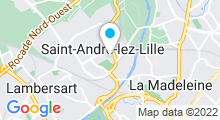 Plan Carte Piscine à St André
