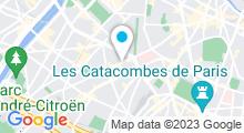 Plan Carte Piscine Blomet à Paris (15e)