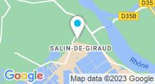 Plan Carte Piscine de Salin de Giraud à Arles