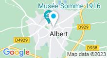 Plan Carte Piscine Caneton à Albert
