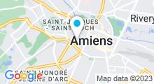Plan Carte Piscine Le Coliseum à Amiens