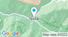 Plan Carte Piscine à Isola