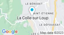 Plan Carte Piscine à La Colle sur Loup