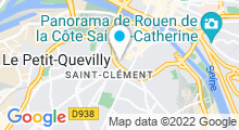 Plan Carte Piscine Denis Diderot à Rouen
