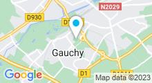 Plan Carte Piscine de Gauchy