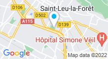 Plan Carte Piscine de Saint-Leu-la-Forêt