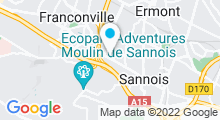 Plan Carte Piscine Pierre Williot de Sannois