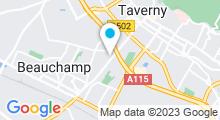 Plan Carte Piscine de Taverny