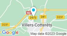 Plan Carte Piscine à Villers Cotterets