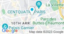 Plan Carte Piscine Château-Landon à Paris (10e)