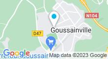 Plan Carte Piscine de Goussainville