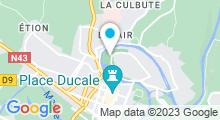 Plan Carte Piscine Bernard Albin à Charleville Mézieres