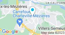 Plan Carte Piscine Ronde-Couture à Charleville Mézieres