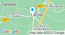 Plan Carte Piscine à Rocroi