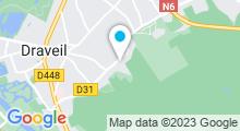 Plan Carte Piscine Aqua Senart à Draveil