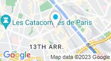 Plan Carte Piscine Dunois à Paris (13e)