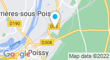Plan Carte Piscine Saint Exupéry à Poissy