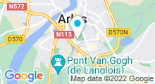 Plan Carte Piscine Cabassud à Arles