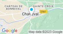 Plan Carte Piscine des Bois à Charleval