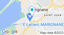 Plan Carte Piscine des Canetons à Marignane
