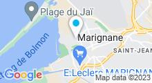 Plan Carte Piscine La Pausa à Marignane