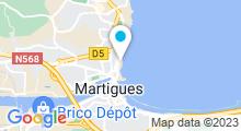 Plan Carte Piscine à Martigues