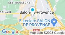 Plan Carte Centre nautique - Piscine de Salon-de-Provence