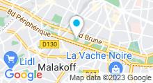 Plan Carte Piscine Didot à Paris (14e)