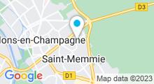 Plan Carte Piscine Regis Fermier à Saint-Memmie