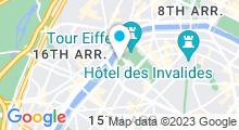 Plan Carte Piscine Emile Anthoine à Paris (15e)