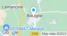 Plan Carte Piscine de Bologne