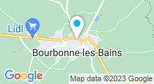 Plan Carte Piscine de Bourbonne les Bains