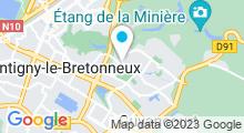 Plan Carte Piscine Andrée-Pierre Vienot à Guyancourt