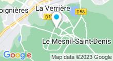Plan Carte Piscine du Mesnil-Saint-Denis