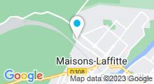 Plan Carte Piscine de Maisons Laffitte