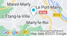 Plan Carte Piscine Franck Esposito à Marly-le-Roi