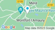 Plan Carte Piscine de Montfort l'Amaury
