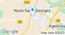 Plan Carte Piscine à Nuits St Georges