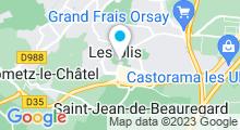 Plan Carte Piscine des Ulis
