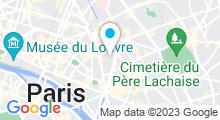 Plan Carte Piscine de la Cour des Lions à Paris (11e)