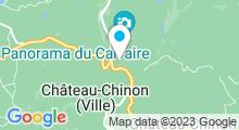 Plan Carte Piscine à Château Chinon Campagne