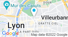 Plan Carte Piscine Tronchet à Lyon