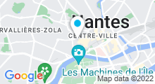Plan Carte MegaSun Aquabike à Nantes