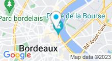 Plan Carte Centre aquabike Dynamika à Bordeaux