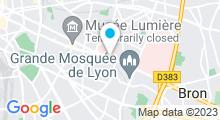 Plan Carte Centre remise en forme et spa Natespa à Lyon