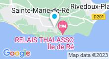 Plan Carte Thalasso à Sainte-Marie-de-Ré