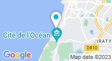 Plan Carte Thalasso Thalmar à Biarritz