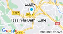 Plan Carte Salle de fitness Wellness Sport Club à Tassin la Demi-Lune